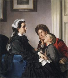The Governess, by Alexandre Cabanel 1865
