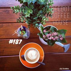 Deedot Coffee House. Brisbane. 365 coffees. 365 cafes. 365 days.