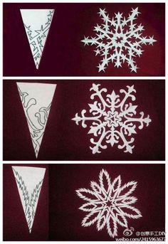 Christmas snowflake design #design #snowflake #Christmas