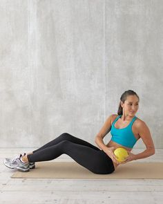 6 moves that target abs that will help you slim down and feel balanced.