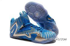 ef47ec9c4ce2 Lebron 11 Silver Blue Grey Shoes TopDeals