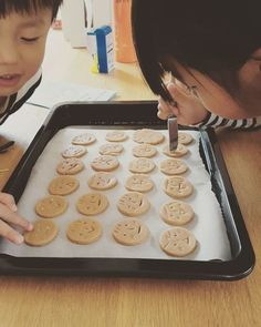 Cookies For Kids, Cute Cookies, Biscuits, Bakery Kitchen, Kawaii Dessert, Christmas Sweets, Christmas Parties, Cookie Packaging, Cafe Food
