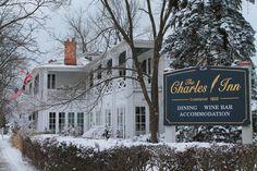 Charles Hotel in Niagara-on-the-Lake - 1832 Georgian Manor House.