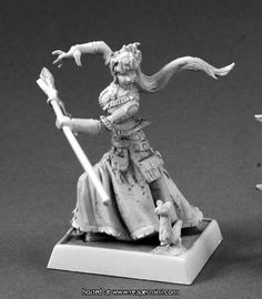 60149: Winter Witch ($8.49) Patrick Keith Reaper Miniatures :: OnlineStore