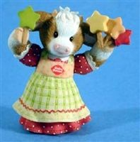 Star Light, Star Bright, Have A Dairy Queen Treat Tonite - 864900 Cow Ornaments, Kimberly Ann, Cow Parade, Cow Decor, Dairy Queen, Under The Mistletoe, Collectible Figurines, My Best Friend, It Cast