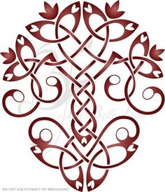 another celtic tree idea to go with my knot all-things-celtic