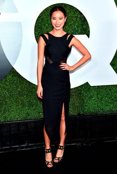 70fe0cdad3cf71 Jamie Chung - GQ 20th Anniversary Men of the Year Party. A-ma-
