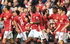 (Photo) Ashley Young hails Man United team spirit Real Madrid And Barcelona, Ashley Young, Old Trafford, Man United, Manchester United, Social Media Marketing, Champion, The Unit, Football