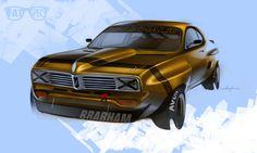 Brabham Viva by Fatspecs, via Behance