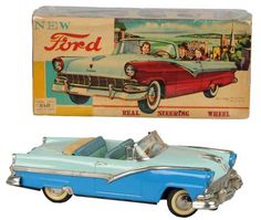 For fun find a Ford Sunliner Friction Toy!