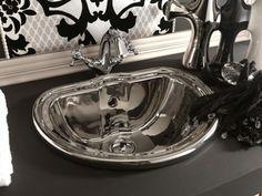 Retro Sink 50 2 Retro Bathrooms, Sink, Home Decor, Sink Tops, Vessel Sink, Decoration Home, Room Decor, Vanity Basin, Rustic Bathrooms