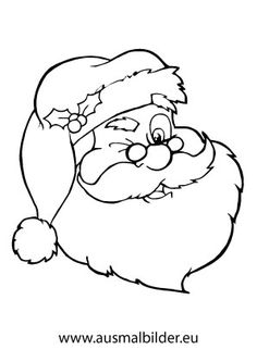 Coloring Santa Claus Winking Page Free Printable Pages On Christmas Color With Xmas Colori Click The