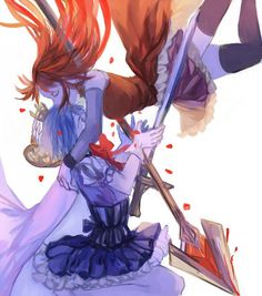 Tags: Anime, Pixiv Id 1651907, Mahou Shoujo Madoka☆Magica, Miki Sayaka, Oktavia von Seckendorff, Sakura Kyouko, Arm Around Shoulder