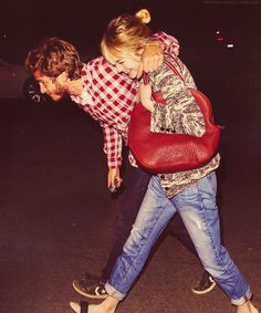 Emma Stone & Andrew Garfield..pretty much obsessed with them because they are so adorable