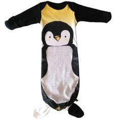 Penguin Sleepsack. Tie at the bottom.