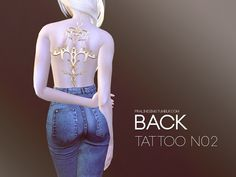 Found in TSR Category 'Sims 4 Female Tattoos' Tattoos For Women, Female Tattoos, Los Sims 4 Mods, Sims 4 Tattoos, Disney With A Toddler, Sims 4 Cc Makeup, Sims 4 Cc Skin, Look Girl, Sims 4 Game