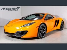 McLaren for Sale in West Chester, PA (with Photos) - Autotrader Mclaren 12c, Mp4 12c, Car Images, Cars For Sale, Convertible, Spider, Racing, Orange, Cars For Sell