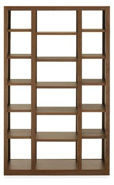 Woodwind Modern Open Back Bookcases - Modern Bookcases & Shelves - Modern Office Furniture - Room & Board