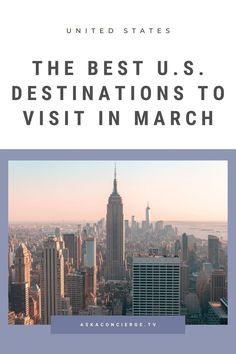 Want to go on an epic US adventure in March? Here are the best USA travel destinations for a vacation! USA Travel | USA Travel Tips | #usa #usatravel #roadtrips Usa Travel Guide, Travel Usa, Travel Guides, Travel Tips, Taco Pictures, Us Travel Destinations, Day Hike, Cool Places To Visit, Spring Break