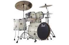 Pearl Session Studio Classic SSC924XUP/C 4-Piece Drum Shell Pack, Antique Ivory   Pearl jsmartmusic.com