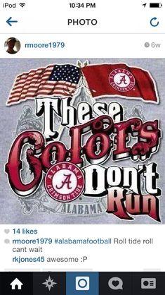 flag and Alabama flag. Roll Tide, and God Bless America! Roll Tide Football, Crimson Tide Football, Alabama College Football, University Of Alabama, Uofa Football, Football Rules, Football Shirts, American Football, Bama Fever