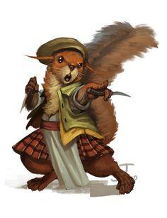 Redwall Races - Squirrels by chichapie.deviantart.com