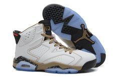 Men Air Jordan Jordan retro 6 Basketball Shoes A+ Luminous Shoes White