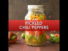 A quick recipe for making pickled peppers that you can keep in your refrigerator for months. They're perfect for topping sandwiches, tacos, tossing onto pizzas, or munching right out of the jar. Pickled Pepper Recipe, Pickled Sweet Peppers, Detox Recipes, Quick Recipes, Quick Easy Meals, Stuffed Banana Peppers, Stuffed Jalapeno Peppers, Types Of Chili Peppers, Homemade Pickles