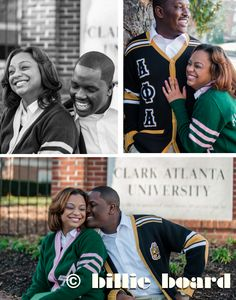 "Jay and Pierre met at Clark Atlanta University while working on their Masters in Public Administration. With Jay as a graduate of Fort Valley University and Pierre being a ""Morehouse Man"", the two of them claw it out when football season rolls around!  Jay says the two of them began talking like 2 months after she came to the Department. They didn't want people to know, so they kept it a secret for almost a year!"