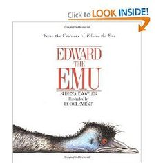 The rhyming text and great illustrations make this book so much fun! Edward is tired of being an emu so he tries about being a few other animals at the zoo.
