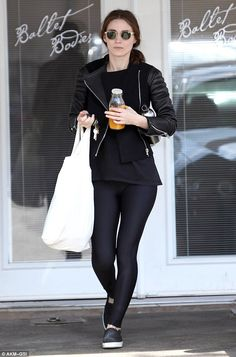 Repeat customer: Rooney was spotted leaving a ballet class on October 10 ...