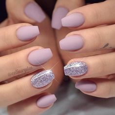 Sweet Glossy Lilac For Short Coffin Nails ❤️ 20 Amazing Short Coffin Nails Designs You Have To Try❤️ See more: naildesignsjourna. Short Nail Designs, Acrylic Nail Designs, Prom Nails, Fun Nails, Nails 2018, Wedding Nails, Gorgeous Nails, Pretty Nails, Perfect Nails
