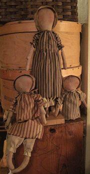 Simple Prairie Dolls pattern. http://www.patternmart.com/pattern/14702/Simple+Dolls