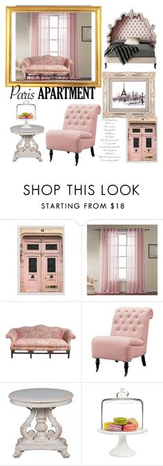 """""""Untitled #26"""" by lucyacstl ❤ liked on Polyvore featuring Pottery Barn, Home Decorators Collection, Martha Stewart, Haute House and parisapartment"""