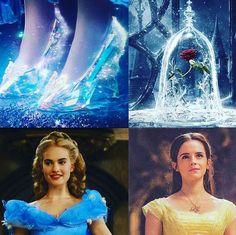 Cinderella and Belle Disney Pixar, Disney Animation, Disney And Dreamworks, Disney Love, Disney Magic, Walt Disney, Disney Characters, Disney Princesses, Cinderella 2015