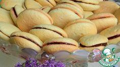 Вафельное печенье Мука пшеничная — 290 г Сахар — 225 г Яйцо куриное — 4 шт Ванилин — 1 пакет. Разрыхлитель теста — 1 ч. л.