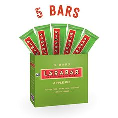 Larabar Gluten Free Bar Apple Pie 16 oz Bars 5 Count >>> You can get more details by clicking on the image.