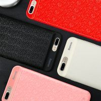 Dobíjací obal BASEUS na iPhone 7 Plus a 8 Plus v červenej farbe, 3650 mAh. Iphone 7 Plus, Iphone 8, Iphone Cases, 6s Plus, Mobiles, Charger, Usb, Apple, Phone Accessories