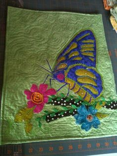 Beautiful Butterfly Quilt