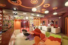 Cafe Interior Design (table-puzzle)