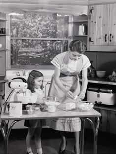 Loved to watch my Mom and Grandmother cook