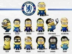 Chelsea FC Minions.