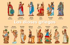 MITOLOGÍA LITERATURA Y ALGO MAS.... : MITOS GRIEGOS I