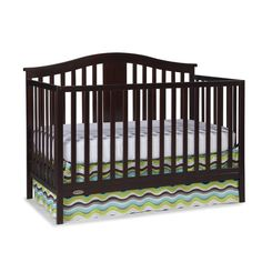 Found it at Wayfair - Solano 4-in-1 Convertible Crib with Mattress