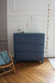 Atelier Petit Toit: La commode vintage de Mélanie - restaurée sur commande.