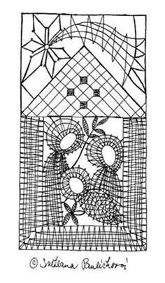 Christmas Nativity, Christmas Themes, Bobbin Lace Patterns, Lace Heart, Lace Jewelry, Lace Design, Suncatchers, Lace Detail, Projects To Try