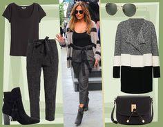 Jennifer Lopez: maxi cardigan, pantaloni cropped e stivaletti con il tacco