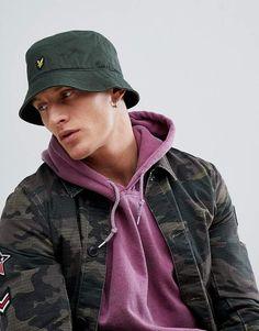 7d1dc8425c2 Lyle   Scott bucket hat in khaki
