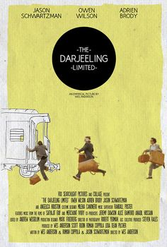 The Darjeeling Limited - movie poster - Dylan Blaty
