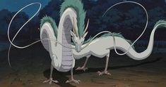 Haku from Spirited Away: Hayao Miyazaki Spirited Away Characters, Spirited Away Movie, Spirited Away Tattoo, Studio Ghibli Films, Art Studio Ghibli, Hayao Miyazaki, Totoro, Haku Spirited Away Dragon, Chihiro Cosplay